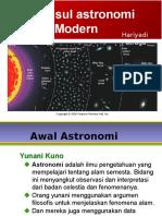 Kursus Ilmu Falak OIF UMSU 2016 - Astronomi Dasar