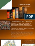 final yr 8 wk 9 customary law