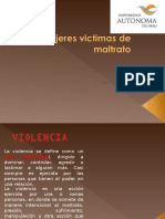 7. Mujeres Victimas Del Maltrato