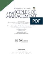 Principle of Managemnt