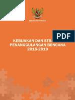 Kebijakan dan Strategi BNPB