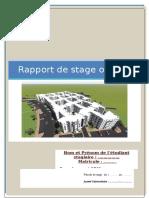 Rapport de Stage d'Été