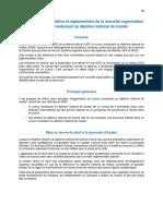 Position Commune - Reforme Du Cursus Conduisant Au Diplome National de Master 639439