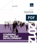 Learning and Talent Development 2012