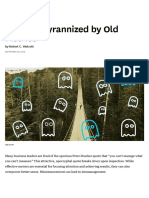 Don't Be Tyrannized by Old Metrics
