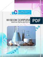 Wisdom Corporation - Profile 4s
