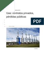 Gas, Contratos Privados, Perdidas Publicas- h. Campodonico