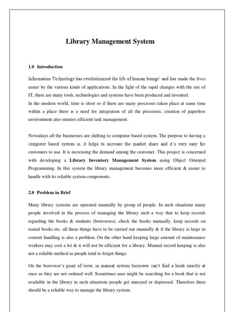 template for student management system - library proposal sample images project proposal simple
