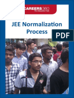 JEE Normalization Process