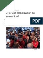 Por Una Globalizacion de Nuevo Tipo- h. Campodonico