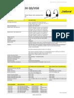 Jabra 1500 QD&USB_TechnSpecs