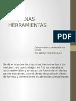 MÁQUINAS HERRAMIENTAS