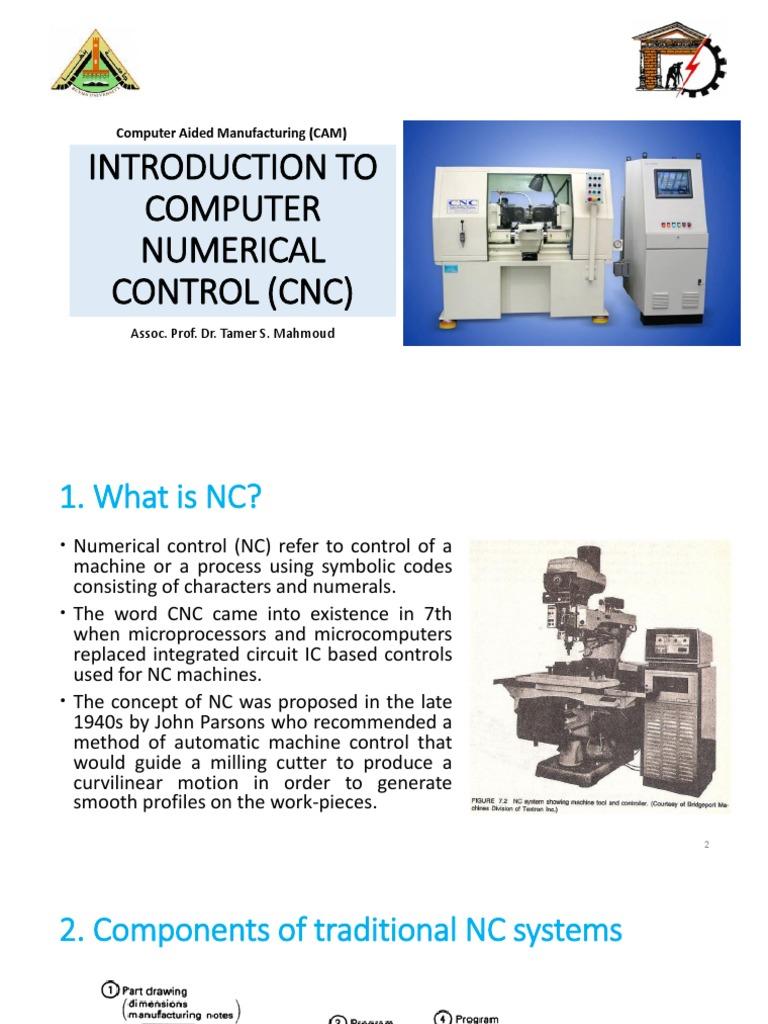 cnc pdf | Numerical Control | Control Theory