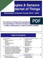 Yole IoT June 2014 Sample