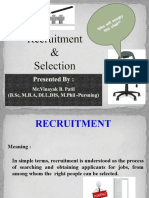 Recruitment Selection PPT