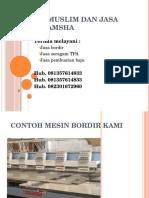 baju bordir | jasa bordir | bordir amsha  | pusat jasa bordir | Telp 083854188335