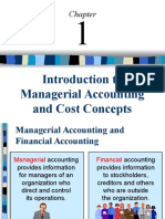Introduction To Managerial Accounting & Cost Concepts