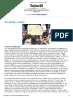 Economía y Cultura Ley de Mecenazgo