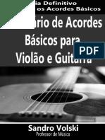Dicionário de Acordes Violão