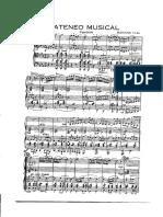Ateneo Musical Partituras
