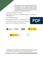 Guía del Modelo de Acuerdos de Transferencia de Material