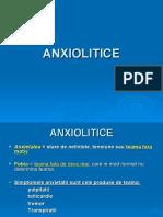 ANXIOLITICE