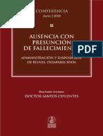 Ausencia Con Presuncion de Fallecimiento_Cifuentes
