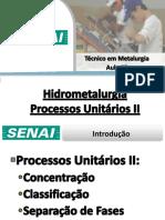 Aula 03 - Processos Unitários II