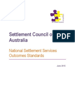 1506 National Settlement Standards