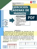 Ejercicio MARKOV-Investigación de operaciones