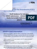 Webinar - Amendments and Easily Correctable Deficiencies Under GDUFA 063014