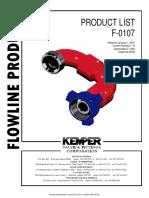 Kemper Price Sheet_Flowline