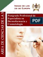 Info Postgrado Dermofarmacia Cosmetología