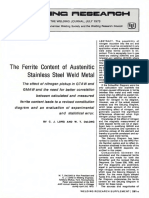 The ferrite content of austenitic Stainless steel weld metal_WJ_1973_07_s281.pdf