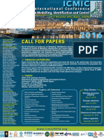 Call for Papers ICMIC-2016