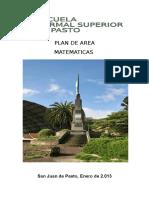 Plan Matematicas 2013 Revisado