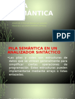 Pila Semántica