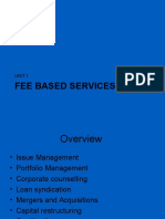Fee Based Financial Services1