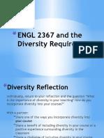 Teaching Diversity in Writing Classes