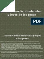Teoría Cinético-molecular y Leyes de Los Gases