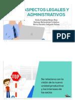 Diapositivas Proyectos Administrativos y Legales