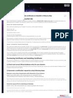 Install SSL Certificate to Glassfish