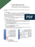 307 Powerpoint Tips