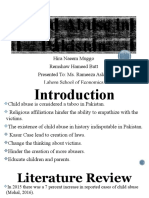 Child Abuse in Pakistan Project Presentation