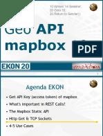 EKON20 Mapbox GEO API Develop2maXbox