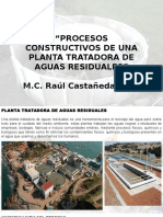 Proceso de construcción de un PTAR