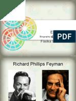 Emil Sandi (4142121018) Fisika Dik d 2014 Biografi Para Ahli (Richard p. Feyman)
