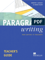PARAGRAPH Teacher's Guide