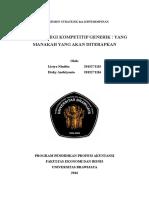 Bab 5 Lima Strategi Kompetitif Generik