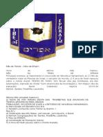 Mês de Tishrei - Tribo de Efraim